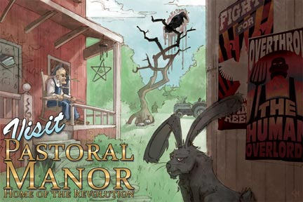 Postcard from Pastoral Manor